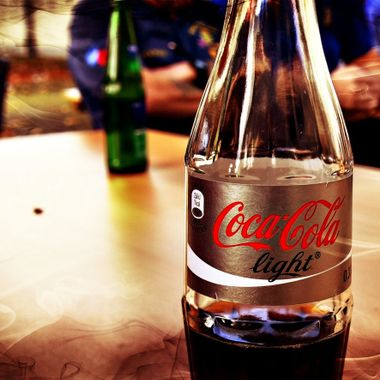Coca Cola Light Bottle.