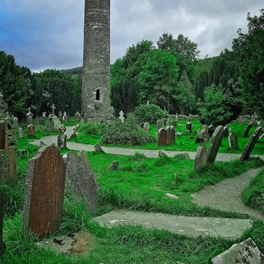 I took this photo while we were visiting Glendalough, at the Wiclow Mountains, in August, 2017.