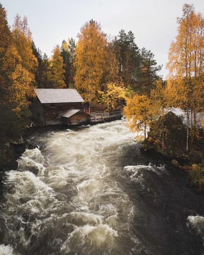 Oulanka National Park in Finland op zijn best door Theo-Herbots-Fotograaf