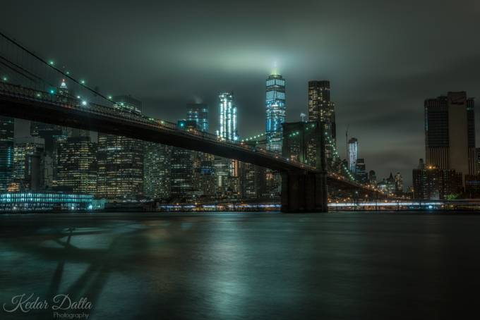Night city by kedardatta - Cities By The Water Photo Contest