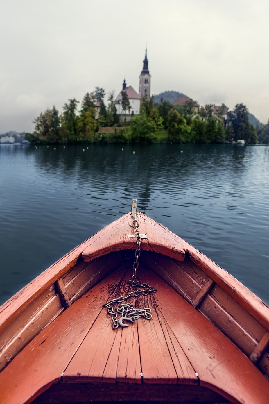boat to bled by ulekadei - It Is Red Photo Contest
