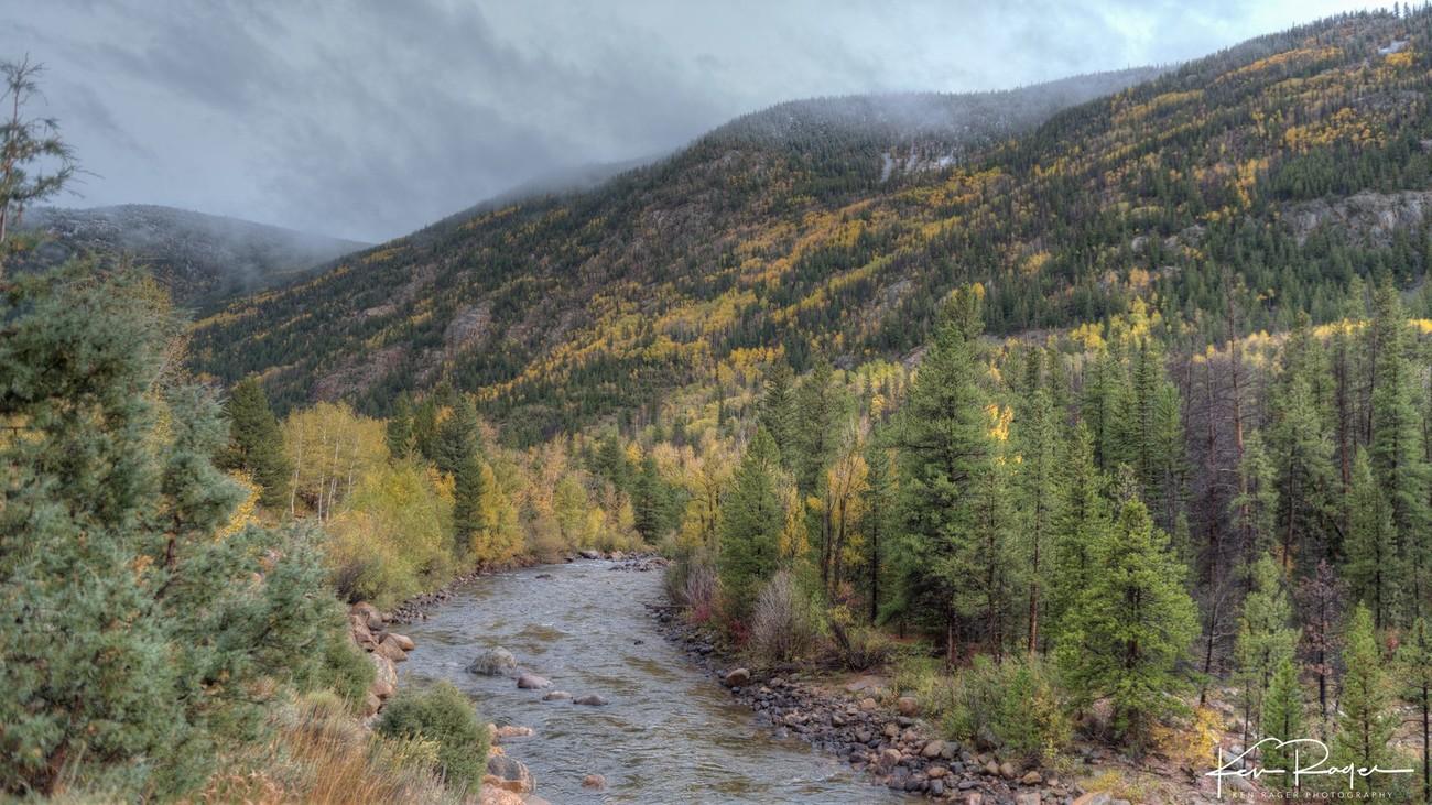 Poudre River - Poudre Canyon Colorado
