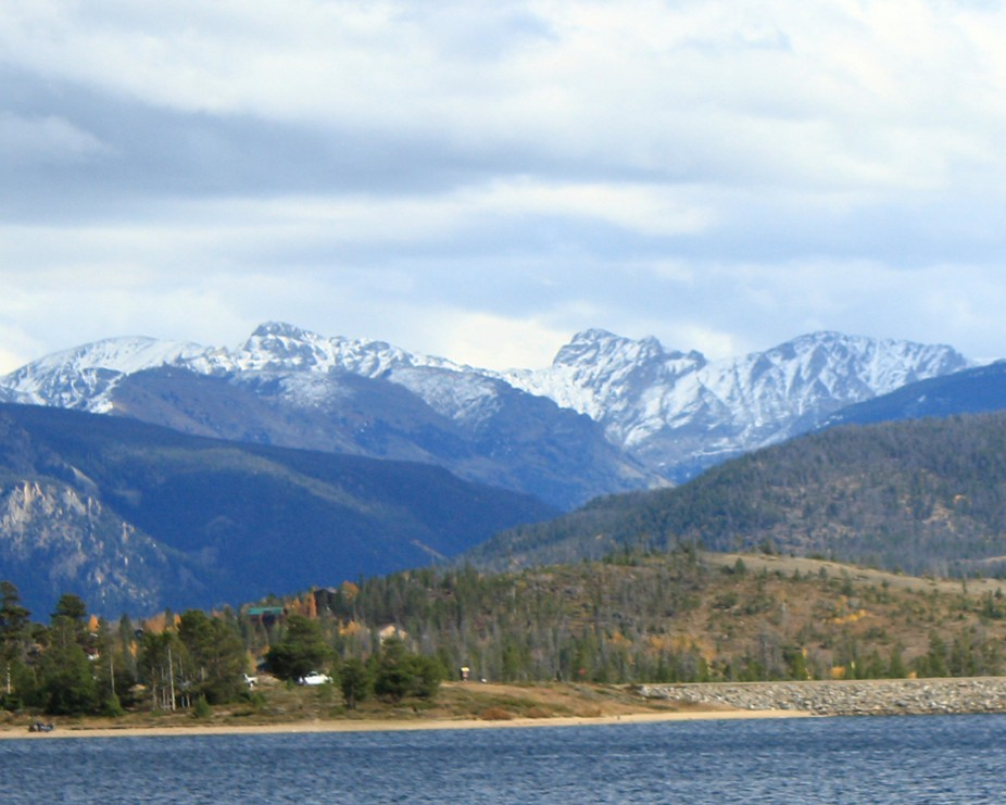 This is from Grand Lake, CO.  I love the mountains