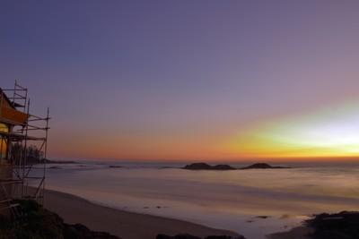 Pacific Rim sunset