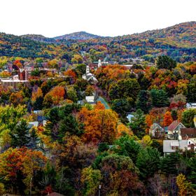 Colorful New England Fall