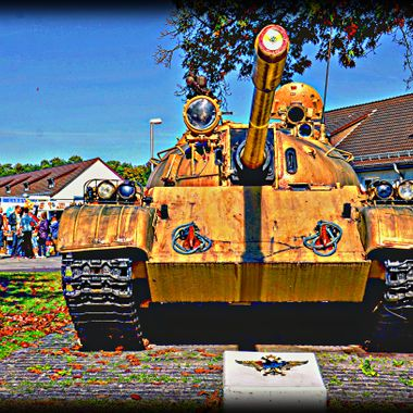 Russian tank T54.
