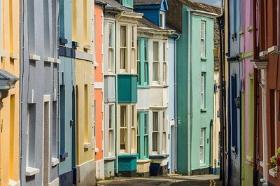 One of my favourite colourful North Devon streets, Irsha Street