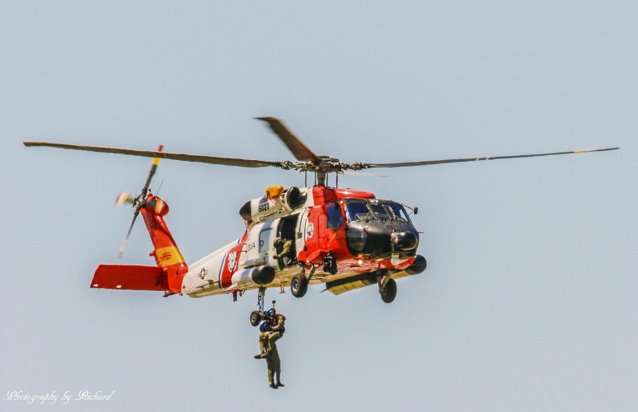 Rescue Demo by the US Coast Guard