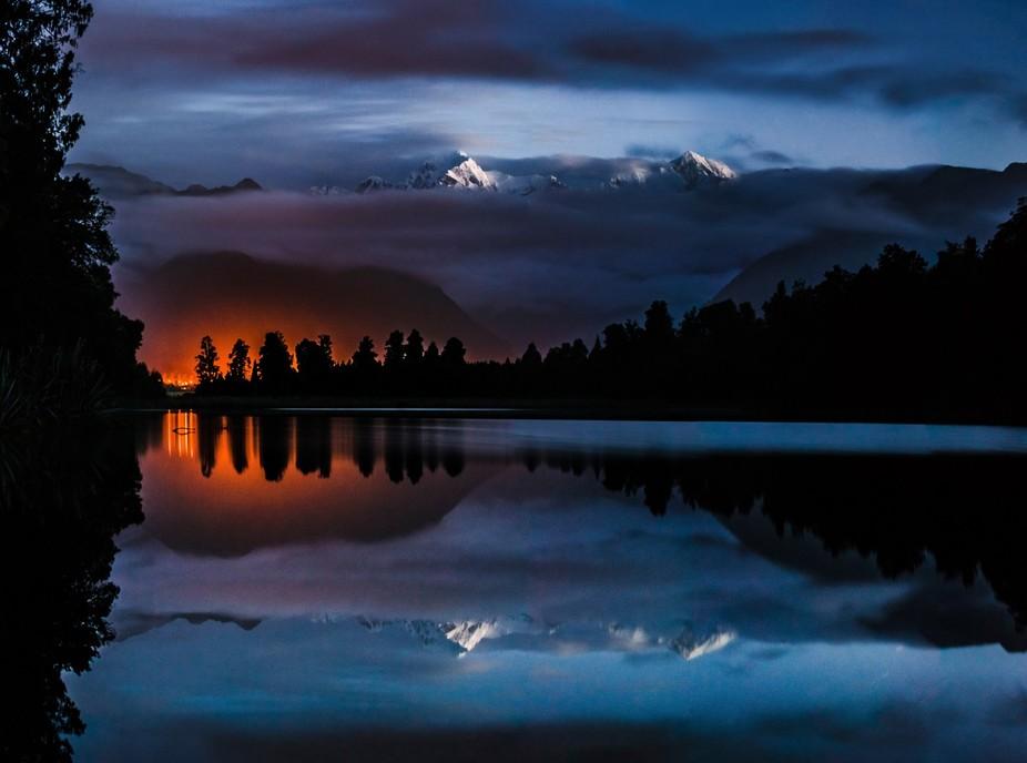 Panoramic capture at night