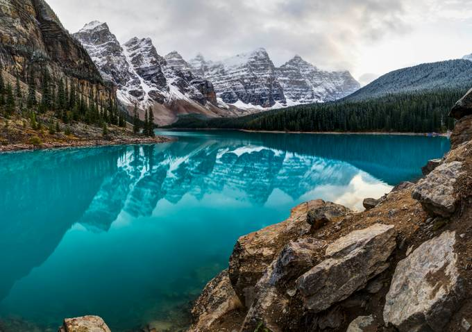 Moraine Lake by EvanHaas - Simply HDR Photo Contest