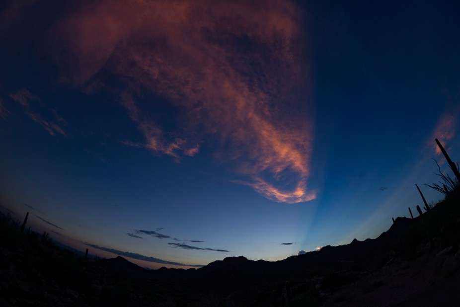 Inverse light rays? Just beautiful.