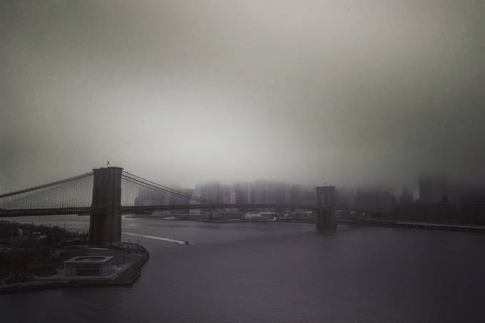 Brooding Brooklyn by Stufinn - Fog And City Photo Contest
