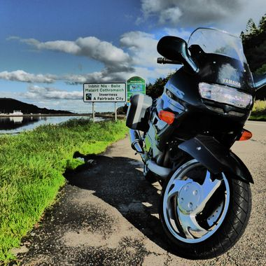 GTS out for a spin round the Beauly Firth