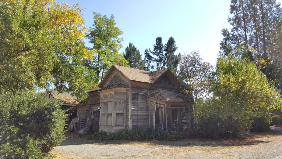 A late 18th century custom built home that has seen better days.  What stories could it tell, wha...
