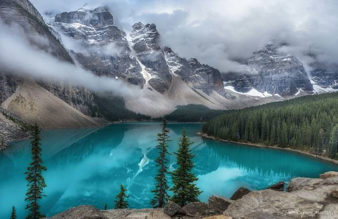 Moraine Lake by JoanCarsonMartelli - Canada Photo Contest