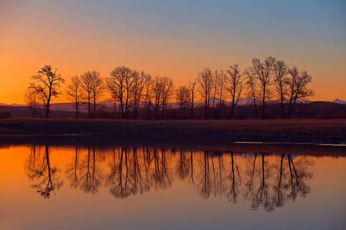 Evening  Reflections by FalconEyesPhotography - Image Of The Month Photo Contest Vol 27
