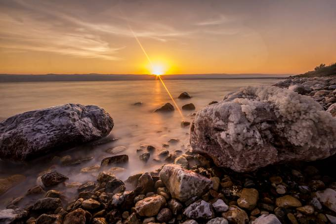 Dead Sea's Sunset by worldograph - Simply HDR Photo Contest