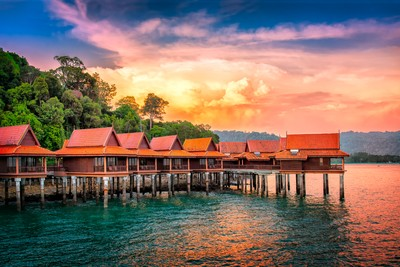 Chalets on Water, Langkawi Island