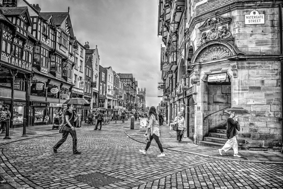 Beautiful Chester, England