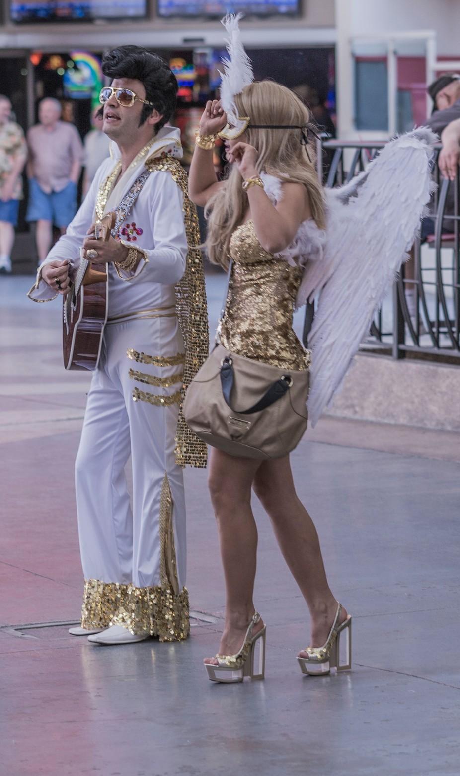 Crazy Vegas Peeps 6 - Elvis and his one Angel