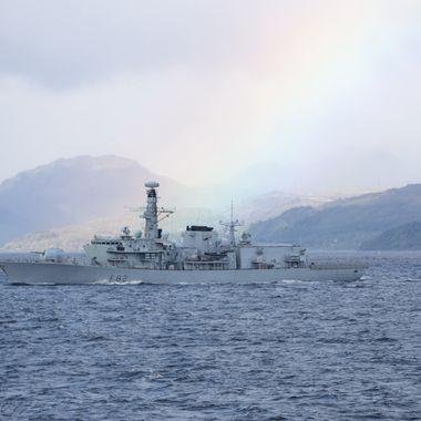 F82 HMS Somerset