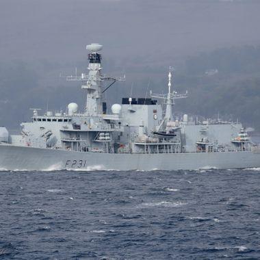F231 HMS Argyll