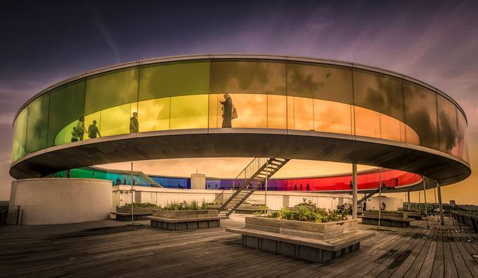 Your Rainbow Panorama by olesteffensen - Composing With Circles Photo Contest