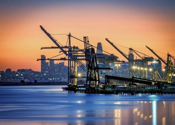 Port of Oakland  by DJLee - Industry Photo Contest