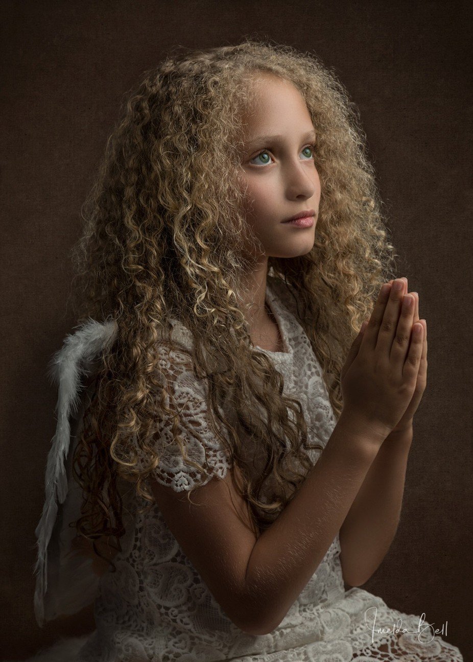 Angel Prayers by imeldabell - Curls Photo Contest