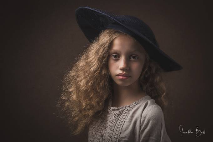 Child in Hat by imeldabell - Hats Photo Contest