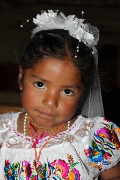 Indigenous Ecuadorian Girl