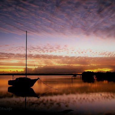 Dawn layers over Tin Can Bay, Australia