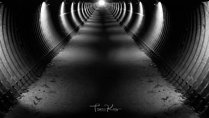 Tunnel of Light by tonyahurseyboyd - Shooting Tunnels Photo Contest
