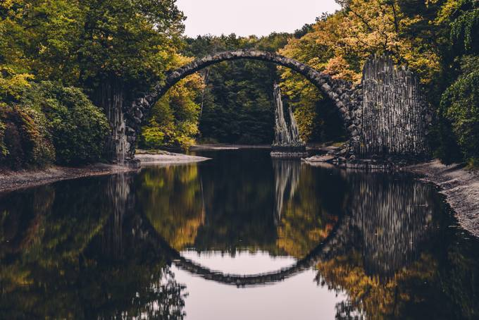 Rakotzbridge by JeffreyGroneberg - Creative Landscapes Photo Contest