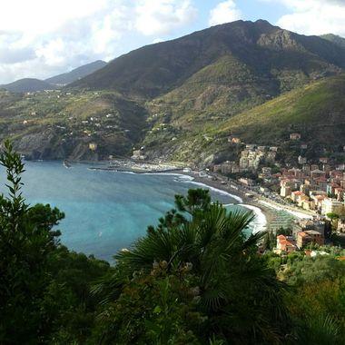 Levanto, Italy overlook