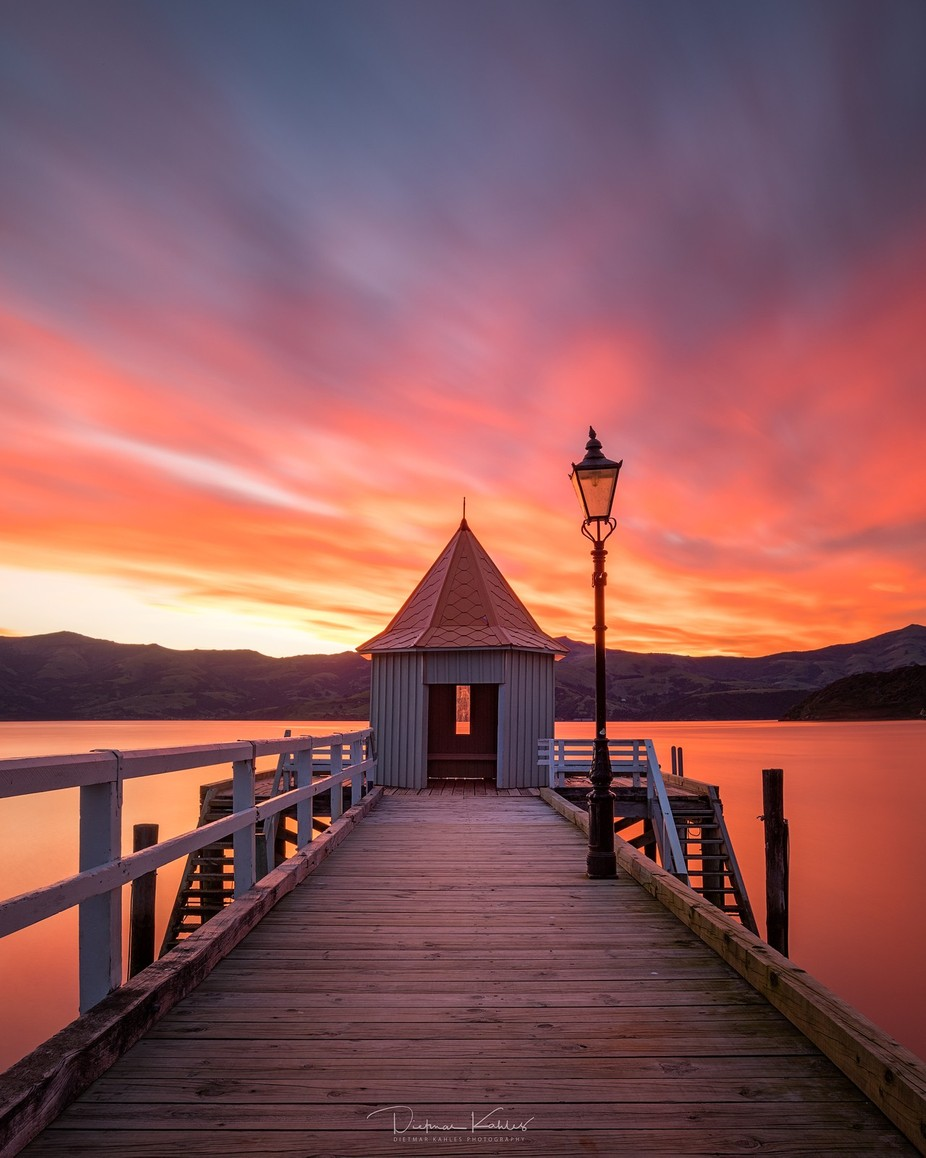 Burning sky at Akaroa by lake_of_tranquility - Social Exposure Photo Contest Vol 12