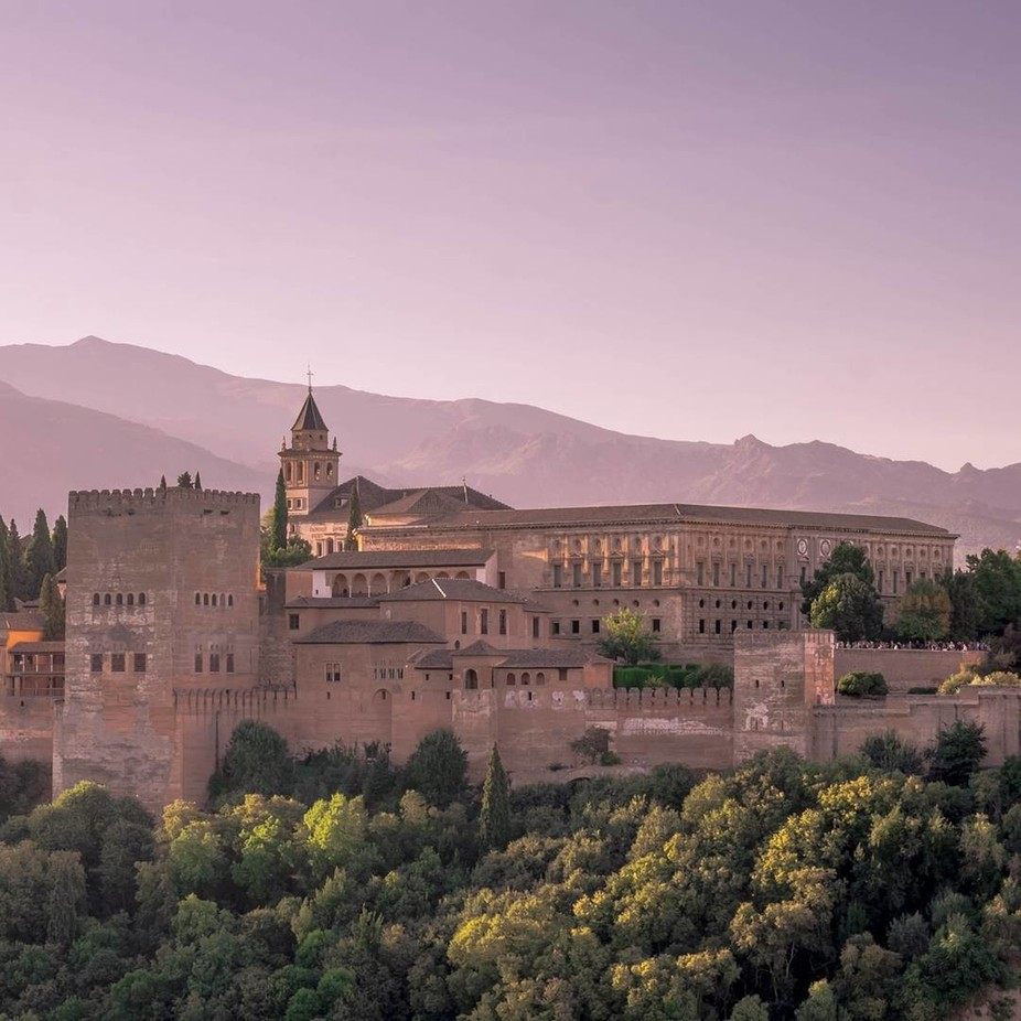 Alhambra Sunrise (1) by davidjsherwood - Enchanted Castles Photo Contest