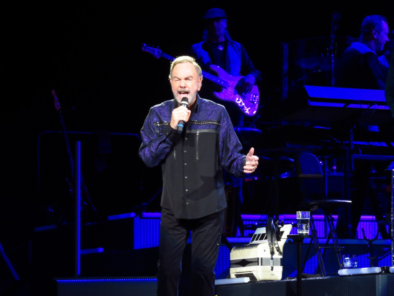 In concert at Leeds First Direct Arena 5th Oct 2017