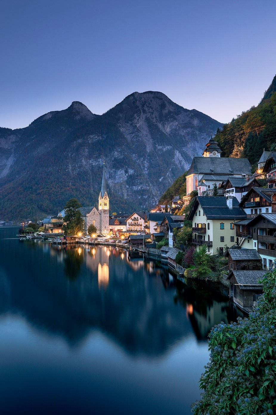Hallstatt Blue by Mbeiter - Image Of The Month Photo Contest Vol 27