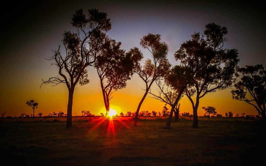 Sunset Over Nardoo