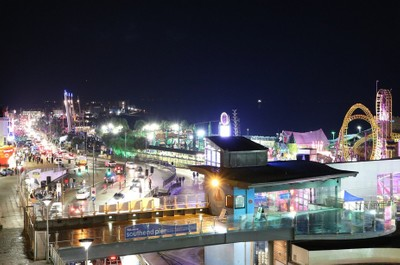 Southend on Sea by night