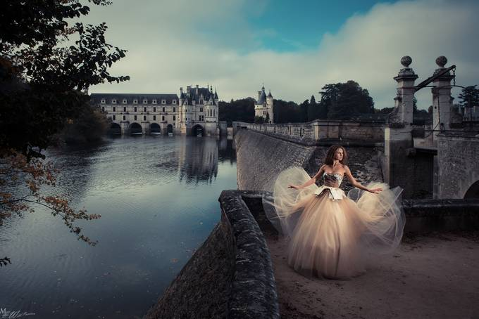 Chenonceau Castle with Florence by marcwildpassion - Enchanted Castles Photo Contest