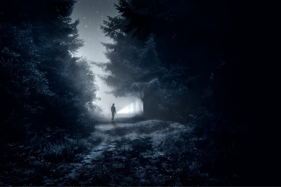 photo edit heavily inspired by the vídeo-game called Alan Wake! I really like it and have been m...