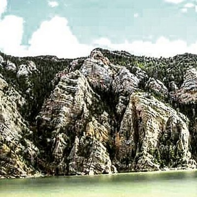 Mountain have Ridges