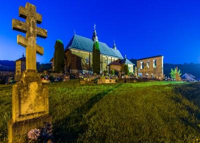 Archangel Michael's Church at Wierchomla