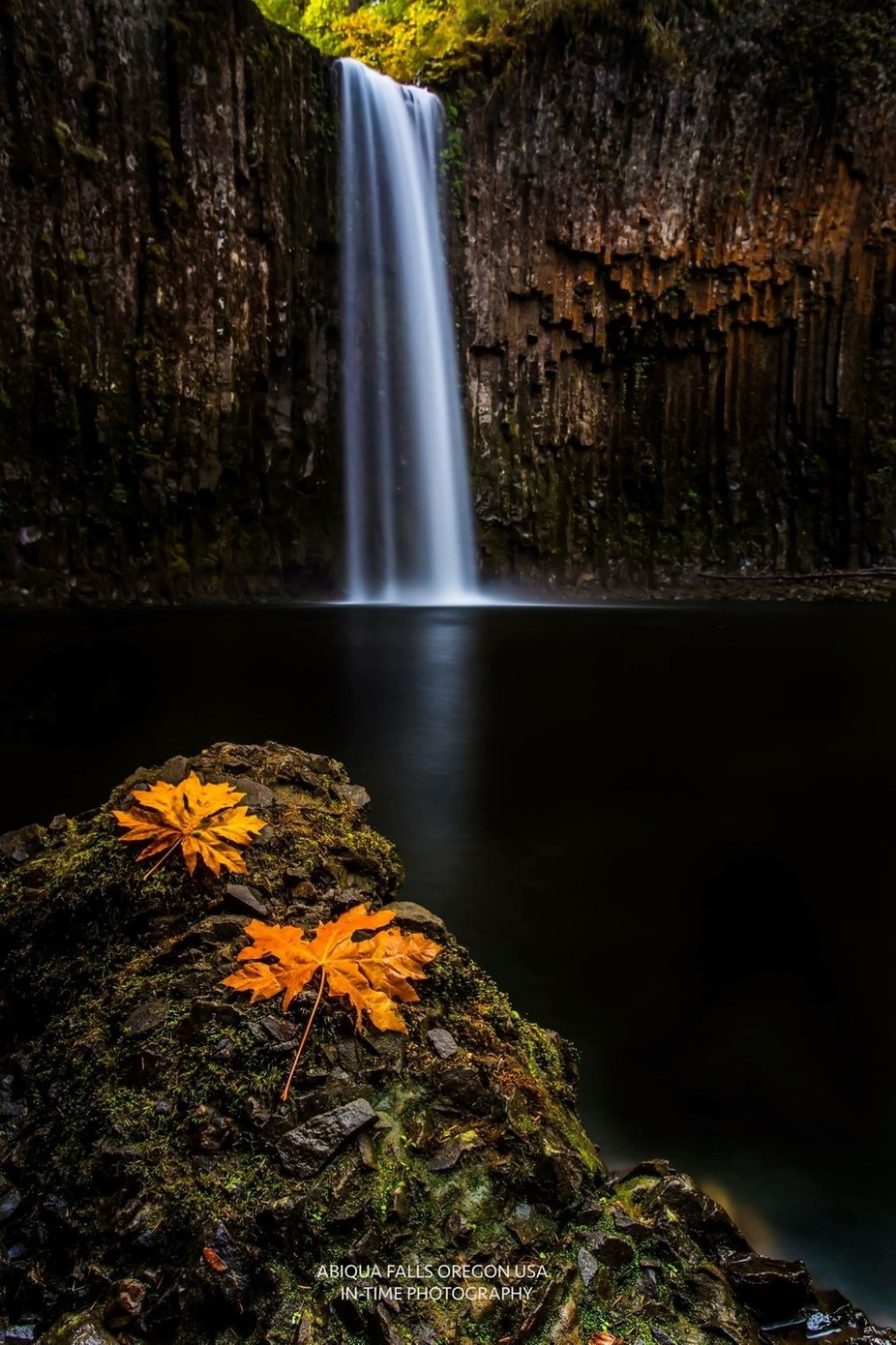 Abiqua Falls Oregon USA  by jasonboneham - Creative Compositions Photo Contest Vol5