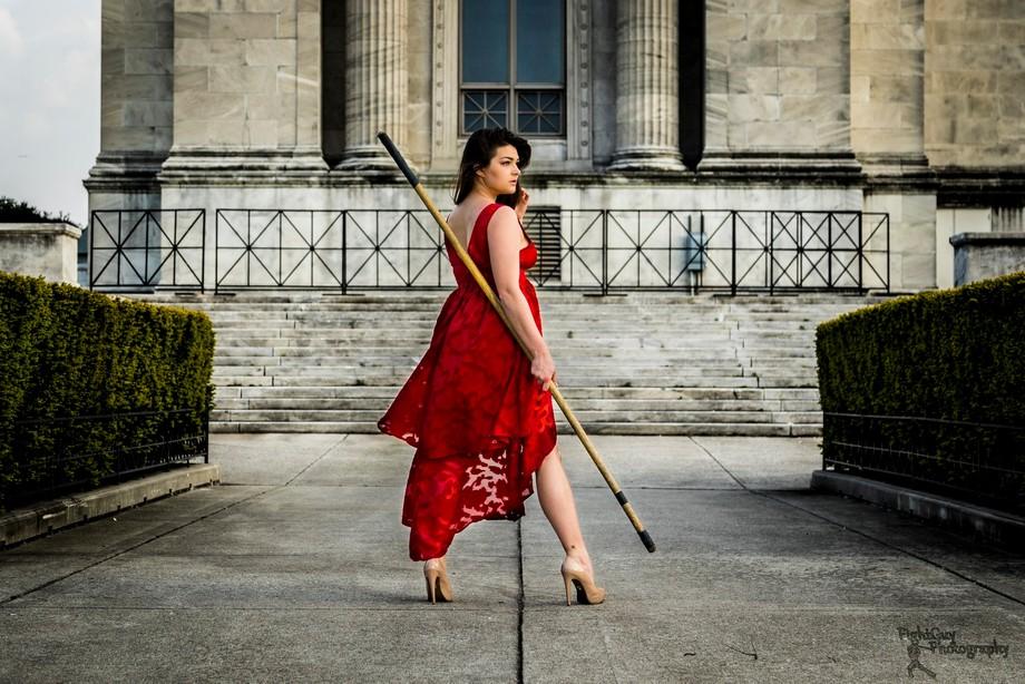 Model: Gabby Perrea Shot in University Campus, Chicago, IL