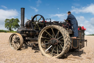 Steam Ploughing Engine, Northamptonshire, England