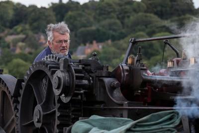 Engine Driver, Northamptonshire, England