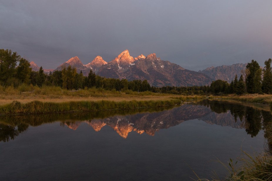 At Schwabacher Landing, Grand Teton - Wyoming.